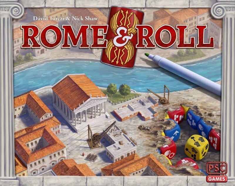 настольная игра Rome & Roll Рим и Ролл
