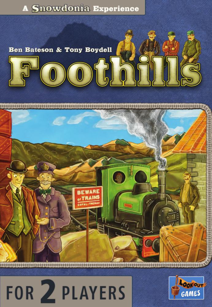 настольная игра Foothills Предгорья