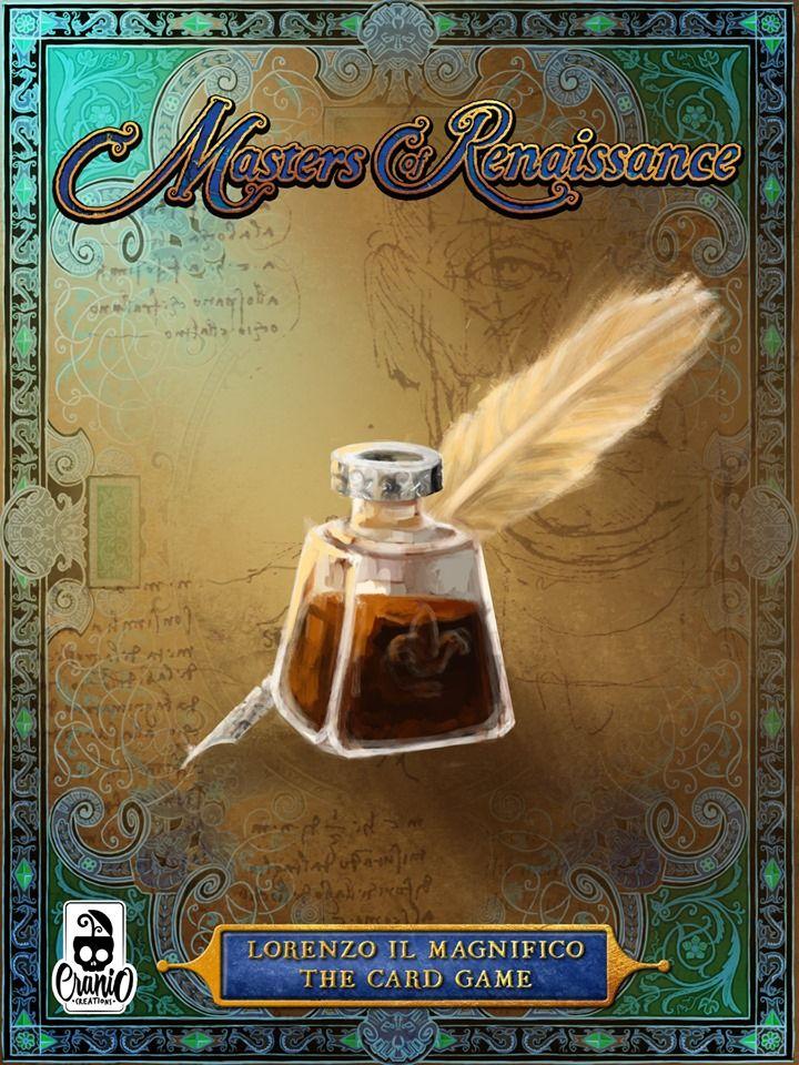 настольная игра Masters of Renaissance: Lorenzo Il Magnifico – The Card Game Мастера эпохи Возрождения: Лоренцо Иль Магнифико - Карточная игра