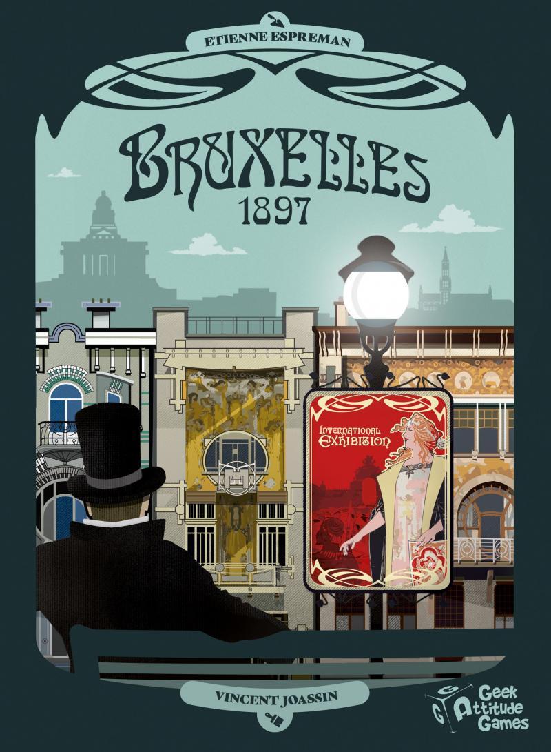 настольная игра Bruxelles 1897 Брюссель 1897