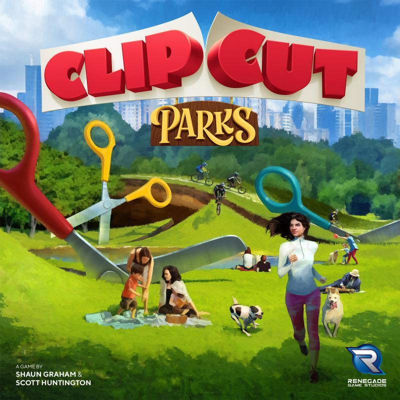 настольная игра ClipCut Parks ClipCut Парки