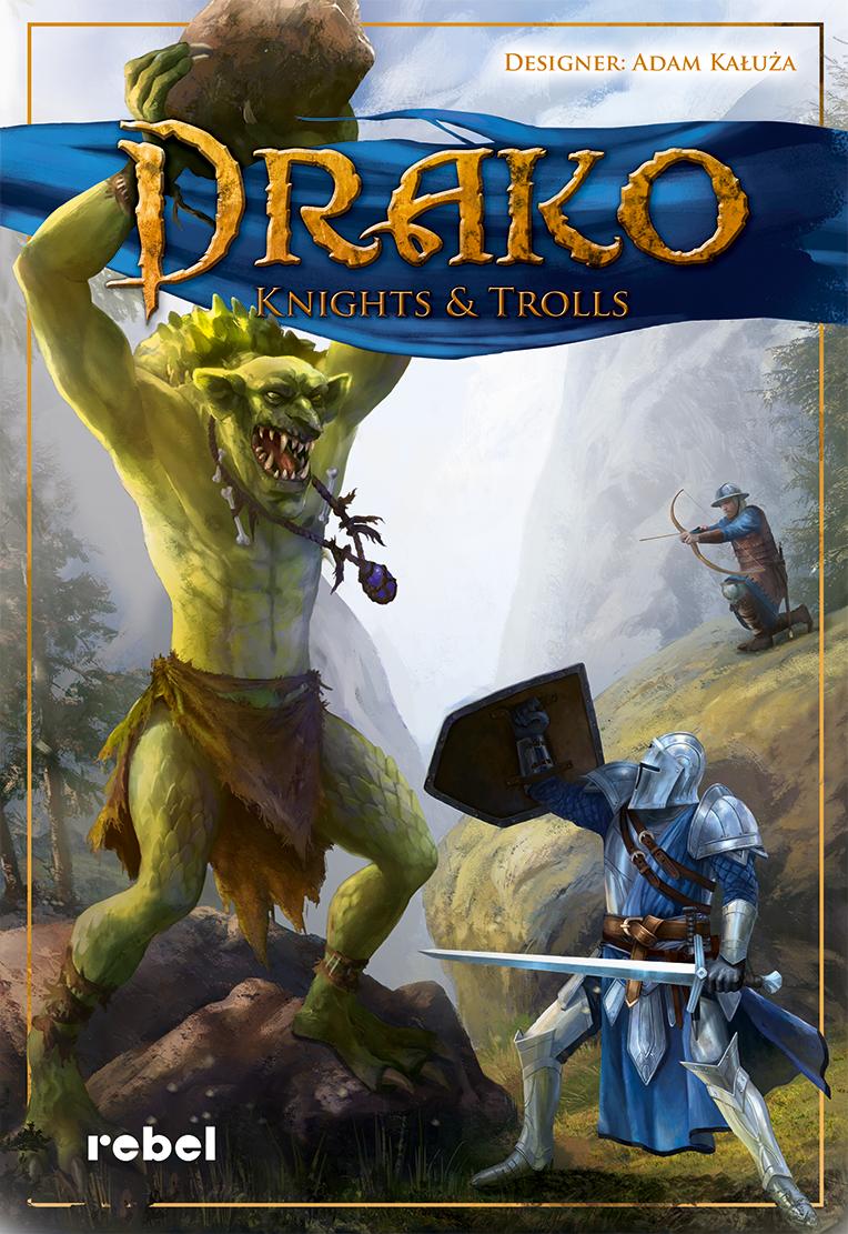 настольная игра Drako: Knights & Trolls Драко: рыцари и тролли