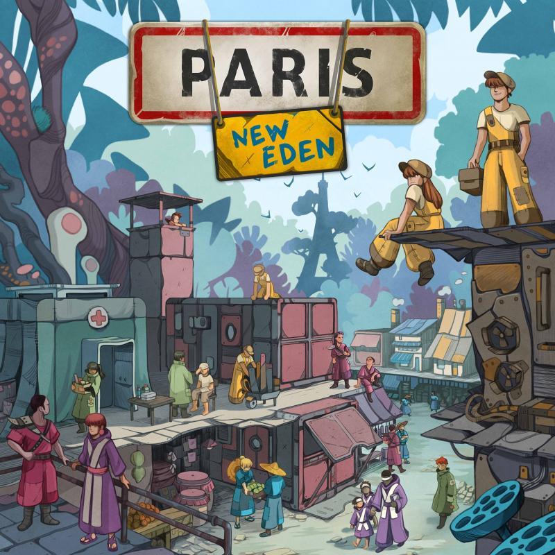 настольная игра Paris: New Eden Париж: новый рай