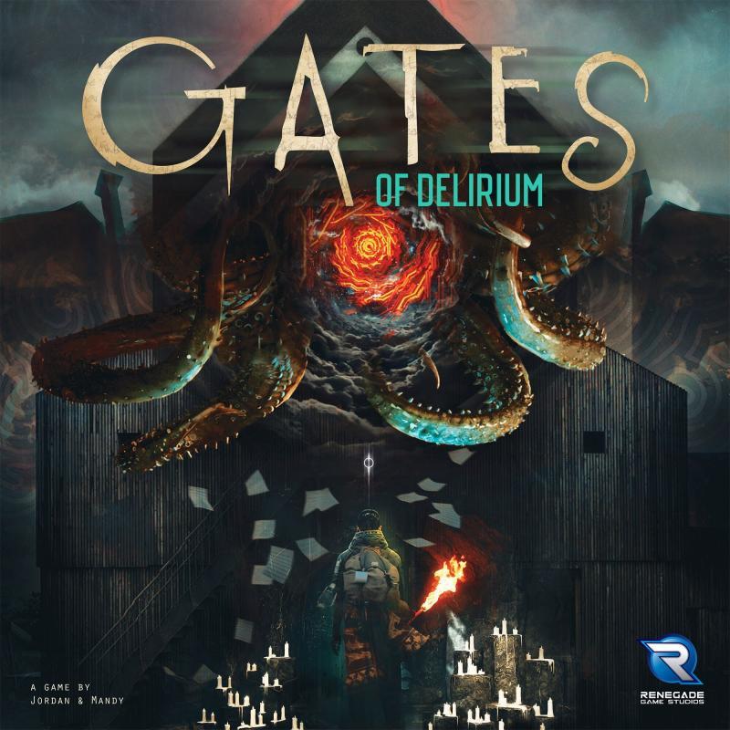 настольная игра Gates of Delirium Ворота Бреда