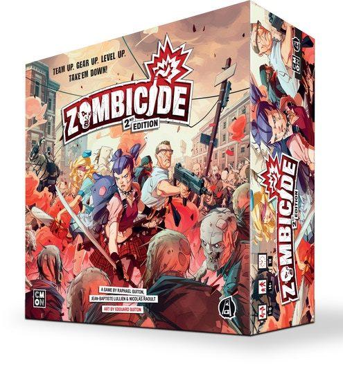 настольная игра Zombicide (2nd Edition) Зомбицид (2-е издание)
