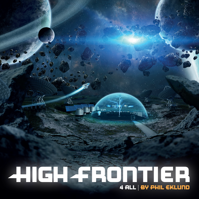 настольная игра High Frontier 4 All High Frontier 4 Все