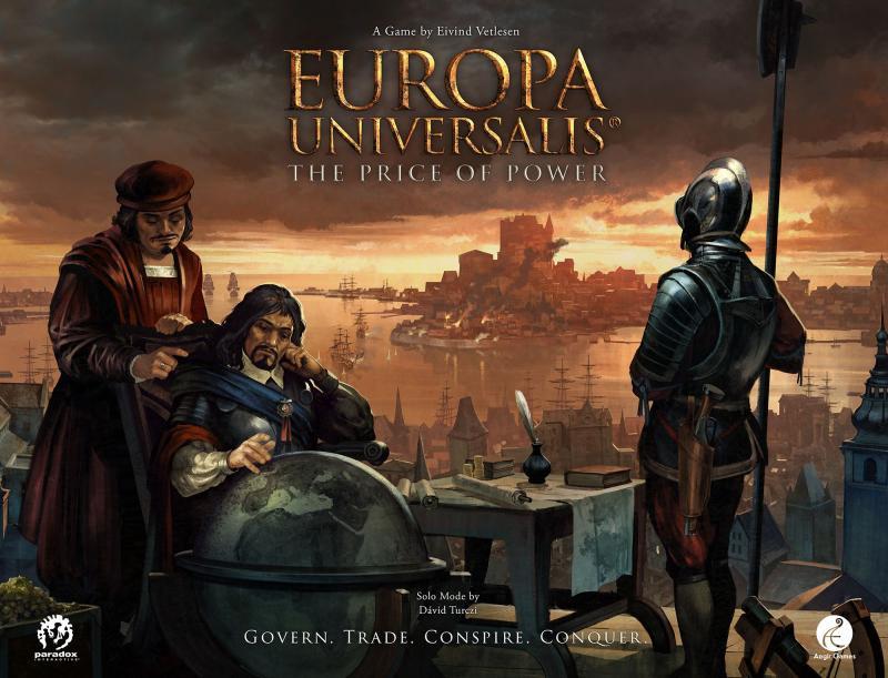 настольная игра Europa Universalis: The Price of Power Europa Universalis: цена власти