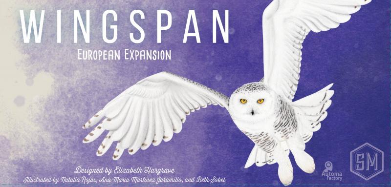 настольная игра Wingspan: European Expansion Размах крыльев: европейская экспансия