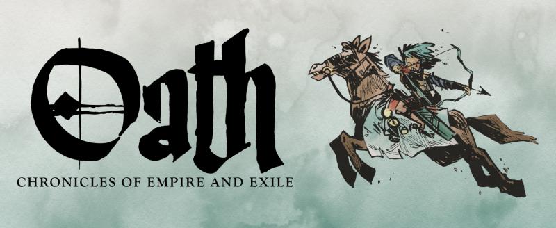 настольная игра Oath: Chronicles of Empire and Exile Клятва: Хроники Империи и Изгнания