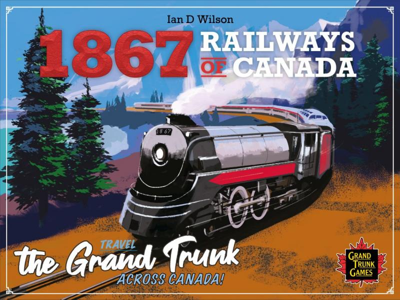 настольная игра 1867: The Railways of Canada 1867: железные дороги Канады