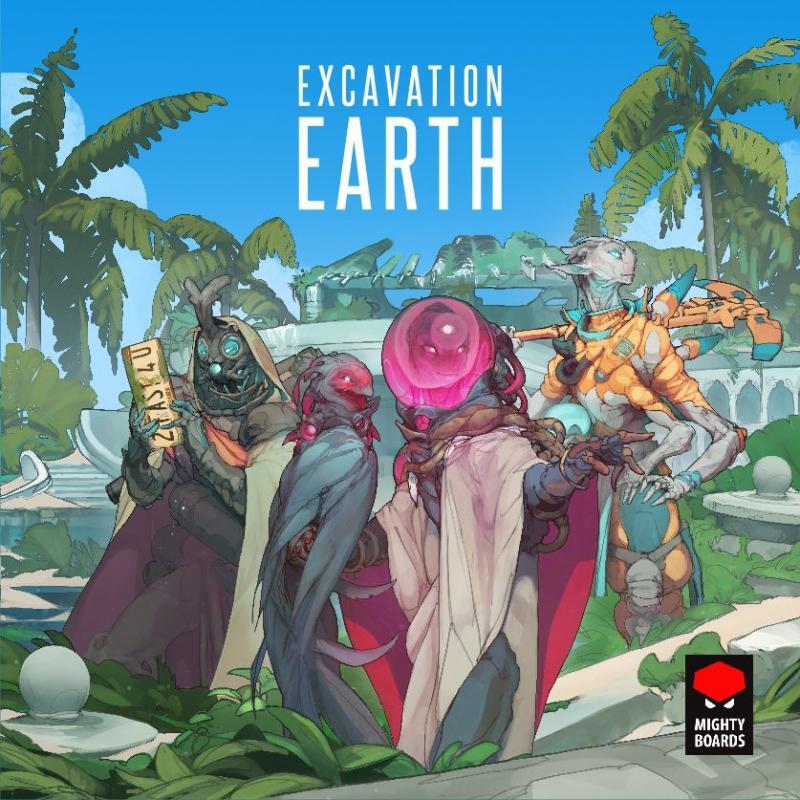 настольная игра Excavation Earth Раскопки Земли