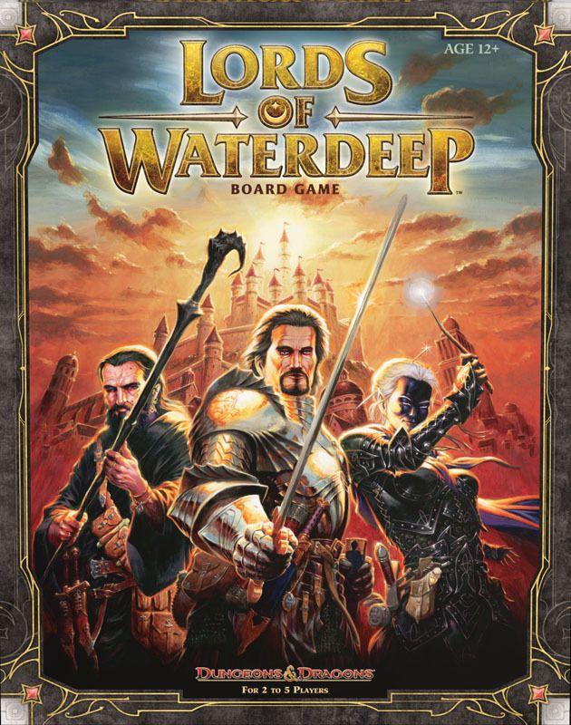настольная игра Lords of Waterdeep Владыки Уотердипа