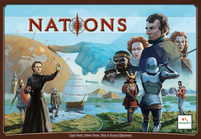 настольная игра Nations Наций