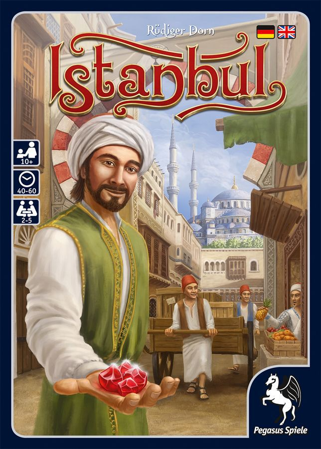 настольная игра Istanbul Стамбул