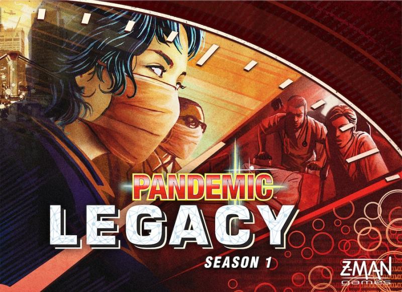 настольная игра Pandemic Legacy: Season 1 Наследие пандемии: сезон 1