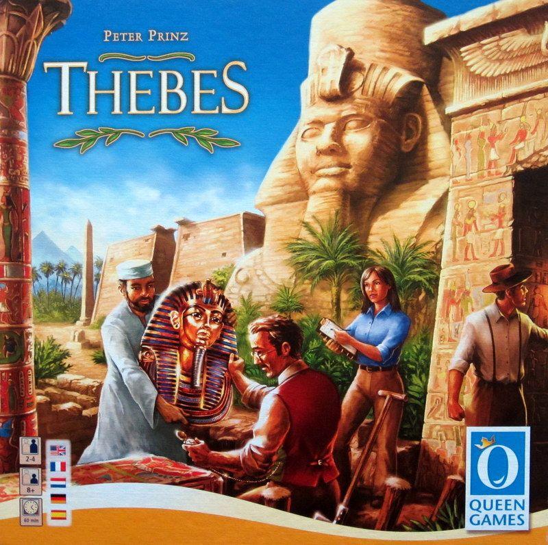 настольная игра Thebes Фивы