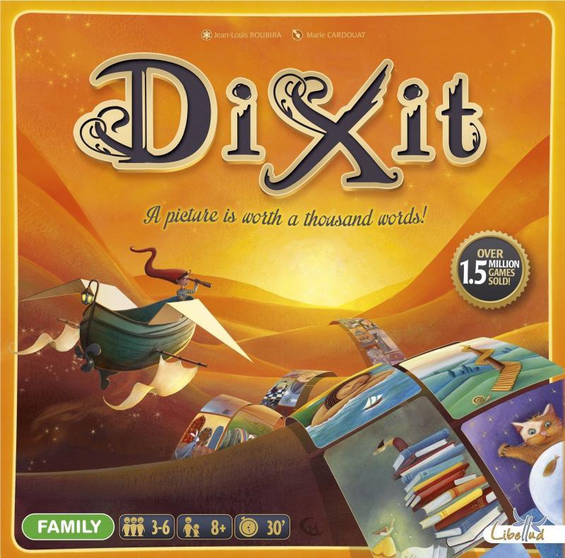 настольная игра Dixit Диксит