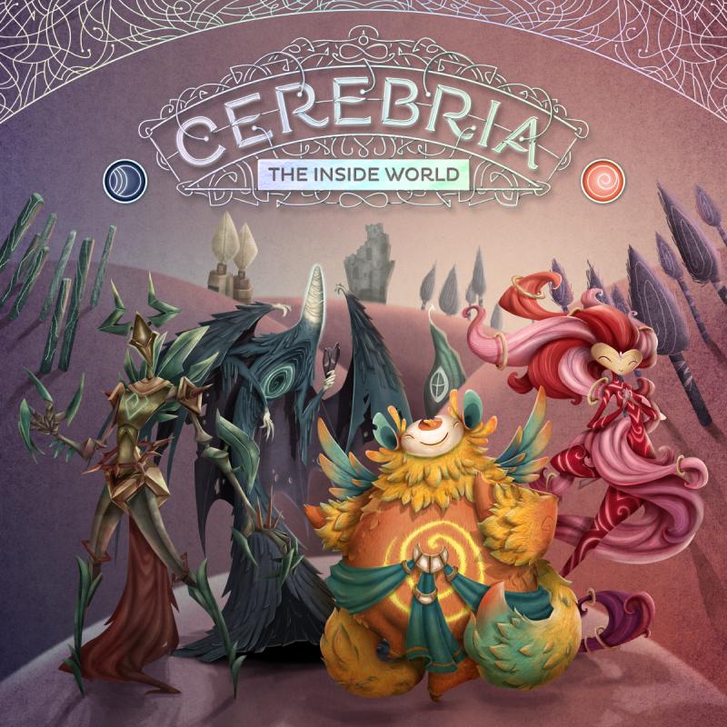 настольная игра Cerebria: The Inside World Церебрия: внутренний мир