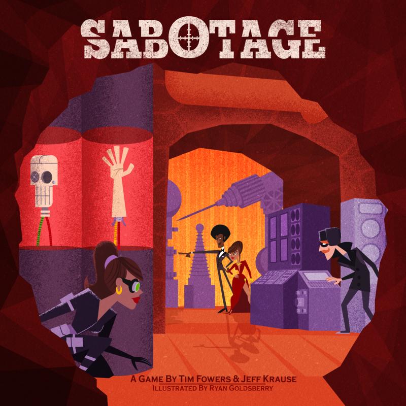 настольная игра Sabotage Саботаж