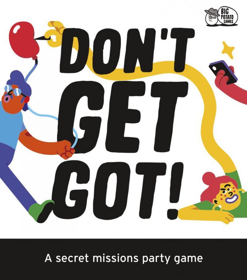 настольная игра Don't Get Got! Не получить!