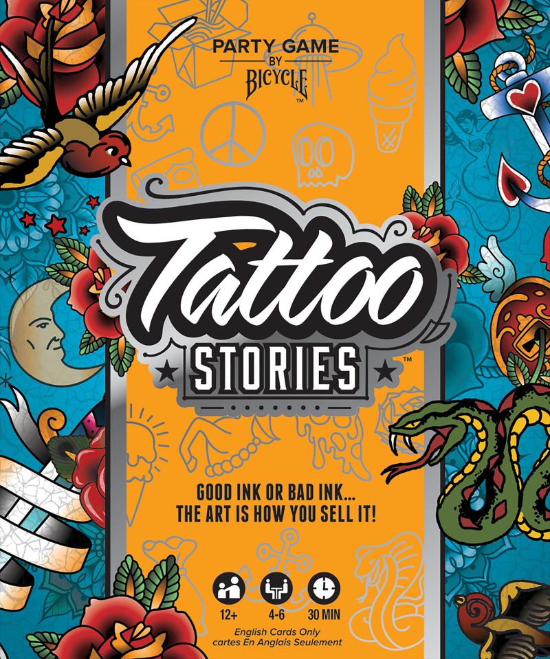 настольная игра Tattoo Stories Татуировки