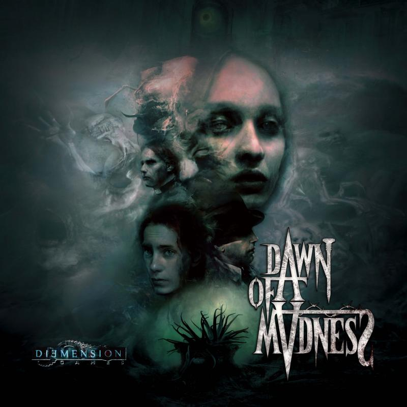 настольная игра Dawn of Madness Рассвет Безумия