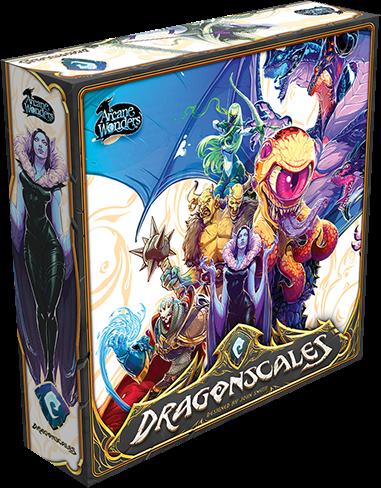 настольная игра Dragonscales Чешуя дракон