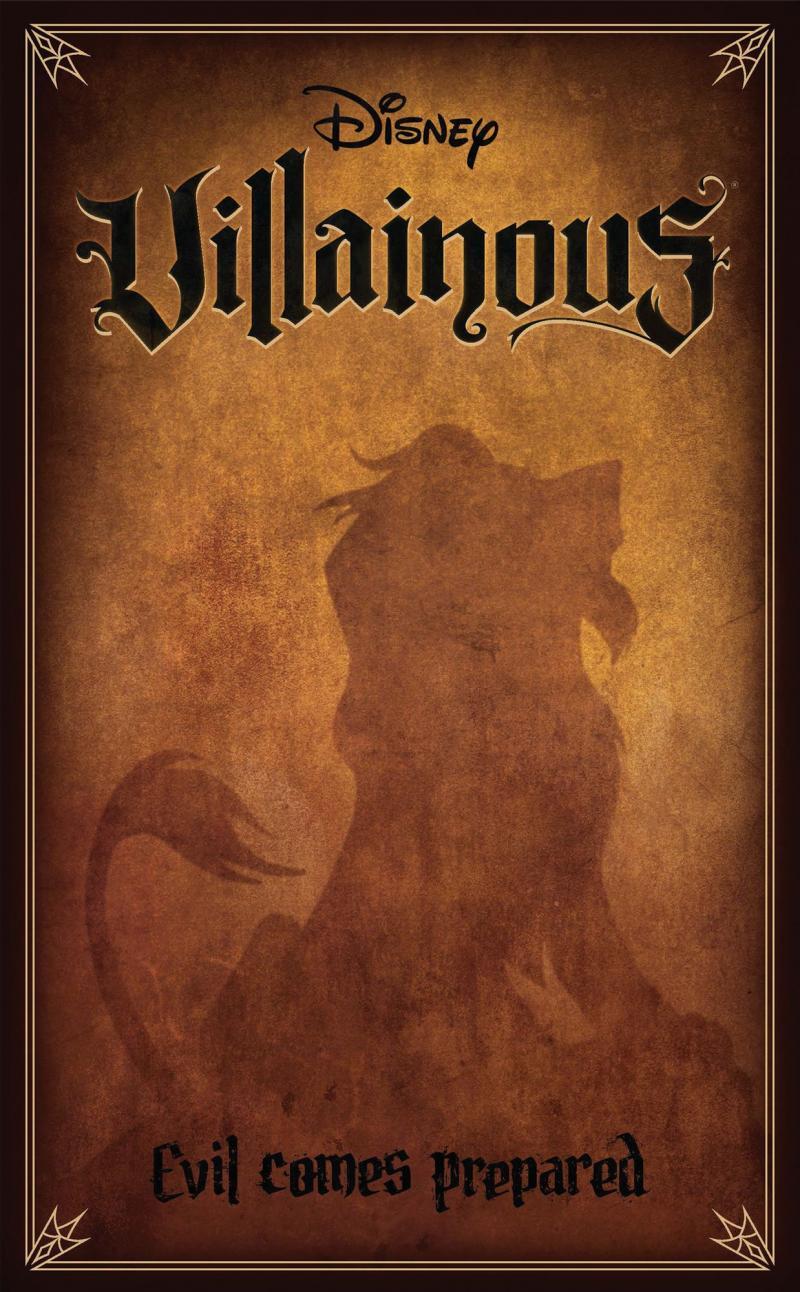 настольная игра Disney Villainous: Evil Comes Prepared Злодей Дисней: готовится зло