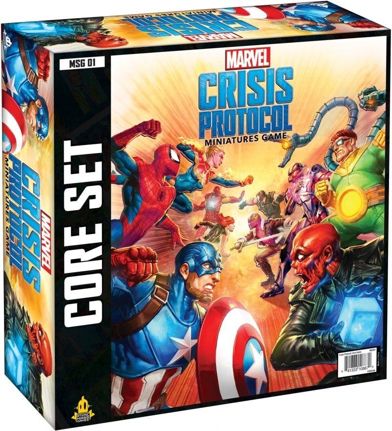 настольная игра Marvel: Crisis Protocol Marvel: кризисный протокол