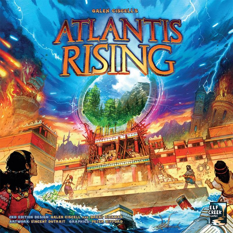 настольная игра Atlantis Rising (second edition) Atlantis Rising (второе издание)