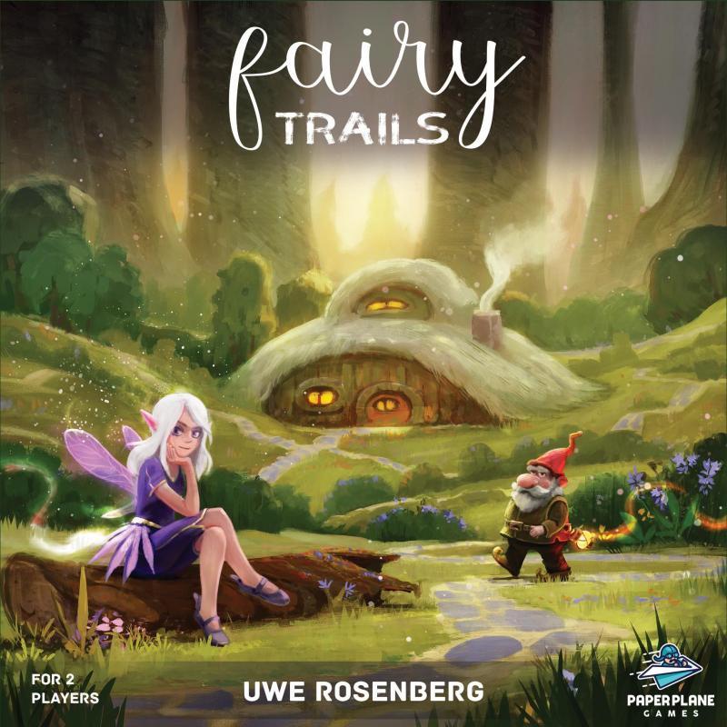настольная игра Fairy Trails Сказочные тропы