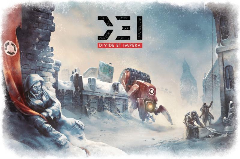 настольная игра D.E.I.: Divide et Impera DEI: разделяй и властвуй