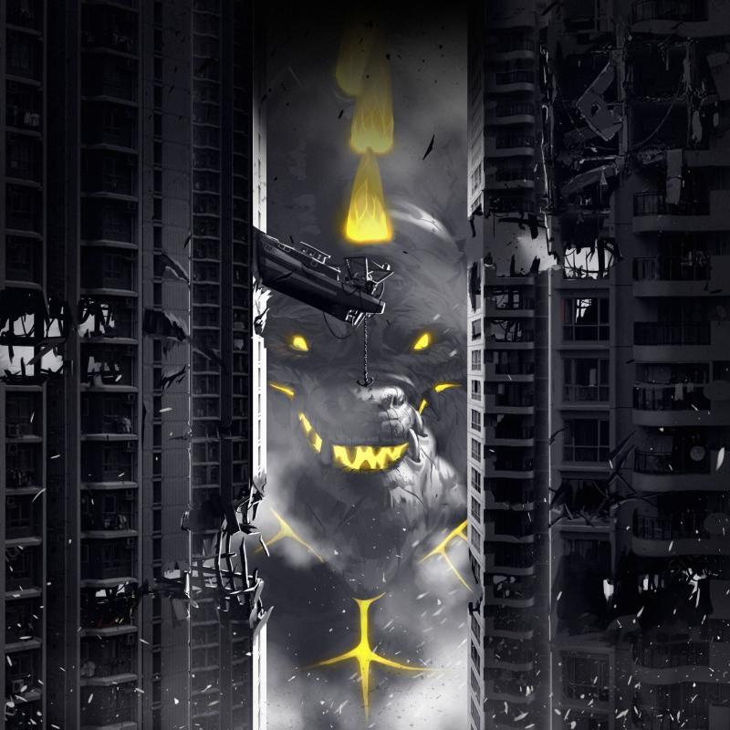 настольная игра King of Tokyo: Dark Edition Король Токио: Темное издание