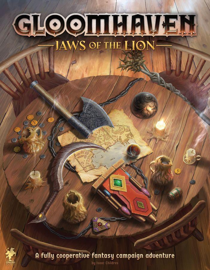 настольная игра Gloomhaven: Jaws of the Lion Мрачная гавань: челюсти льва