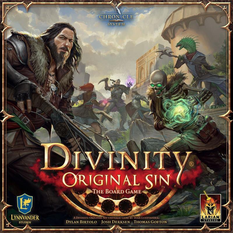 настольная игра Divinity Original Sin the Board Game Divinity Original Sin Настольная Игра