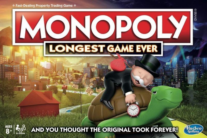 настольная игра Monopoly: Longest Game Ever Монополия: самая длинная игра в истории