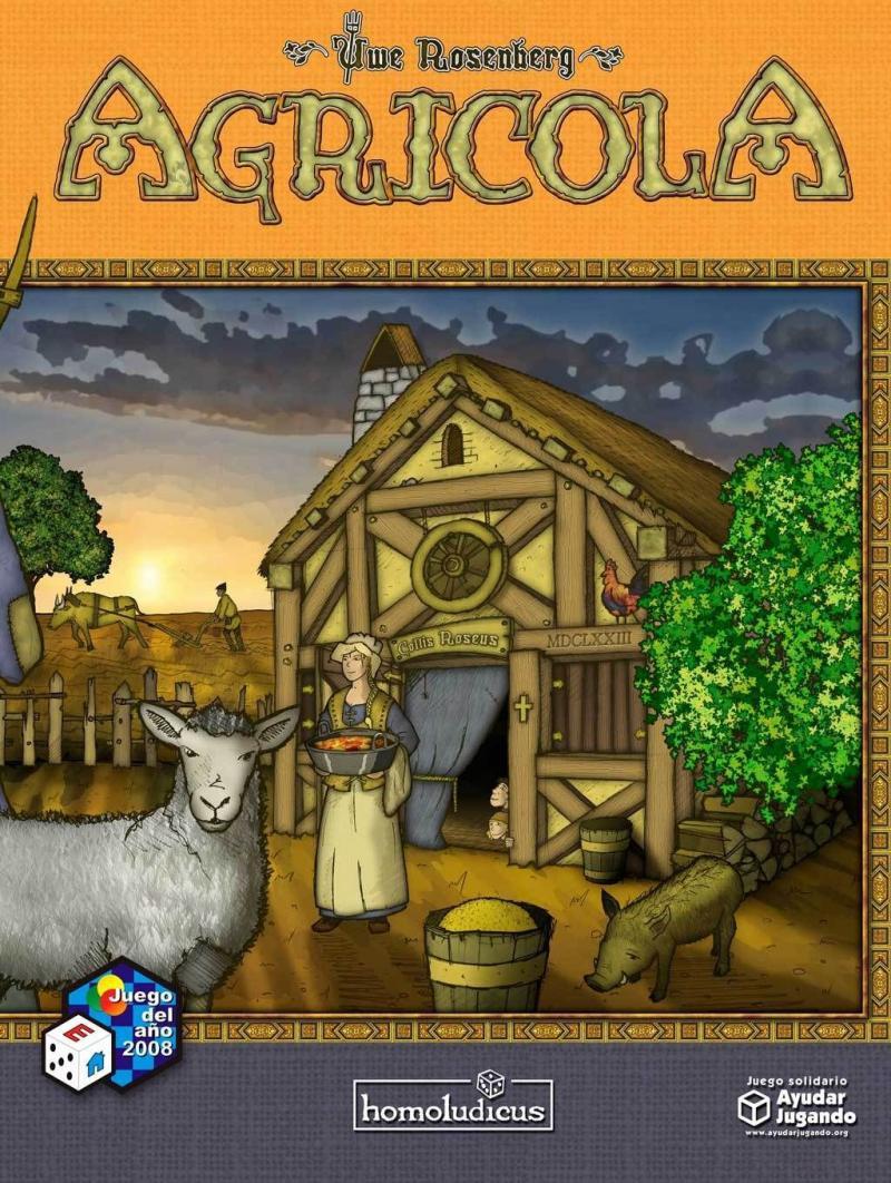 настольная игра Agricola