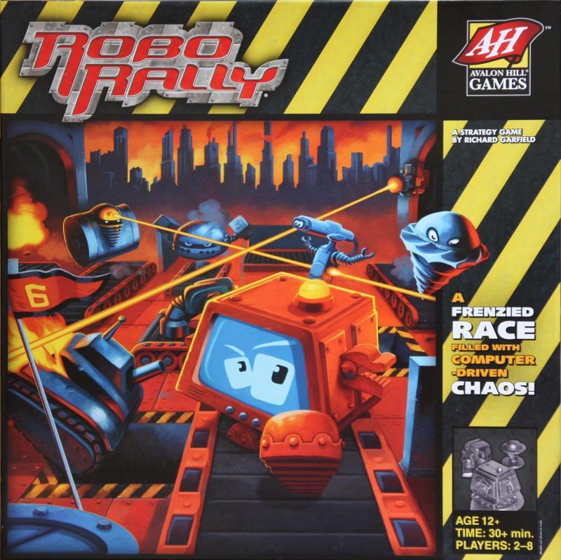 настольная игра RoboRally