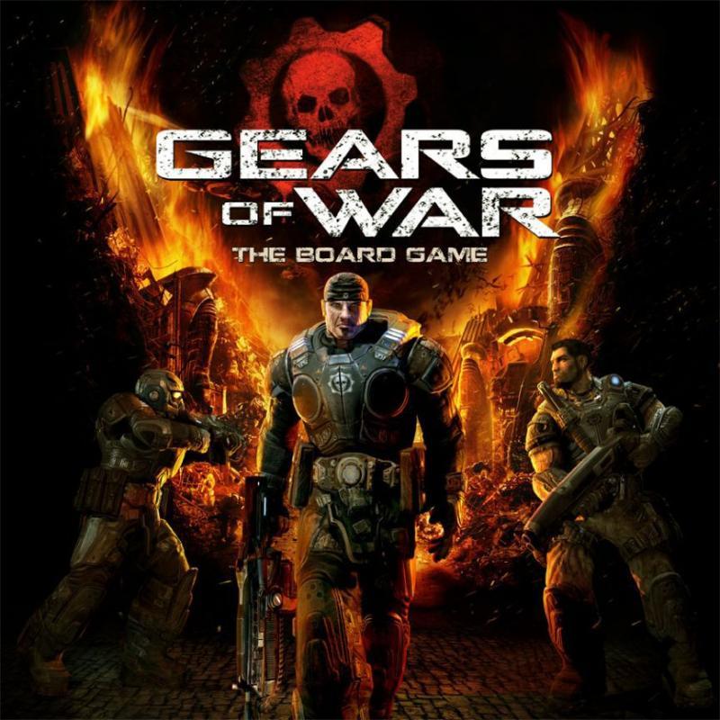 настольная игра Gears of War: The Board Game Gears of War: настольная игра