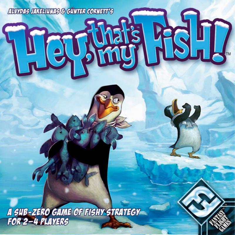 настольная игра Hey, That's My Fish! Эй, это моя рыба!