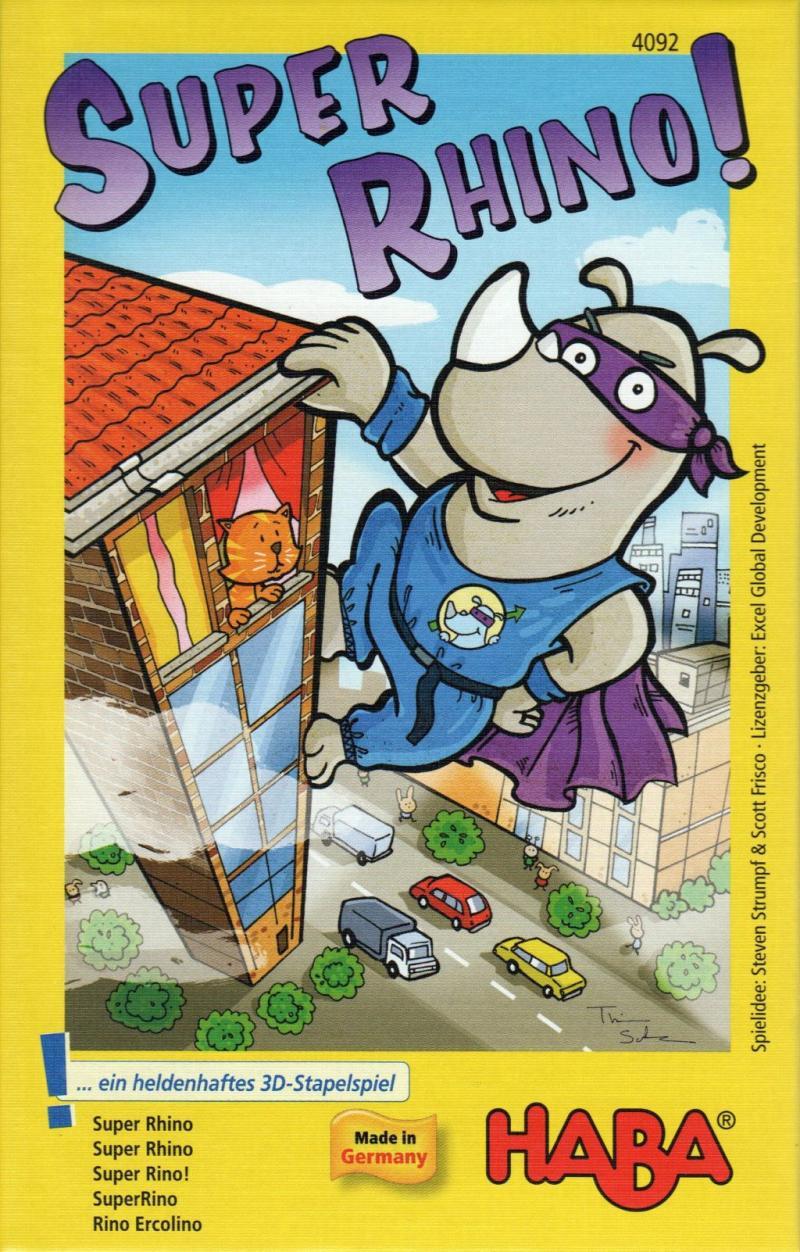 настольная игра Rhino Hero Герой носорога