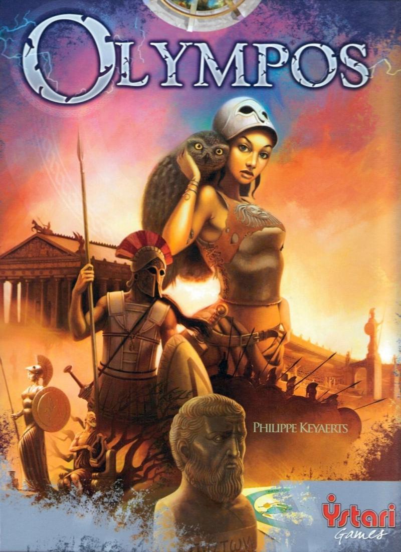 настольная игра Olympos Олимпос
