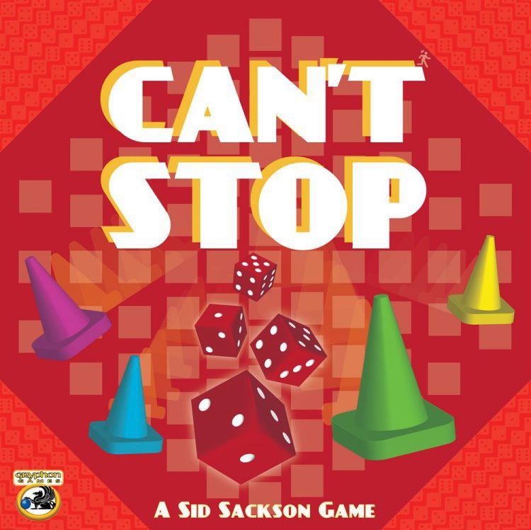 настольная игра Can't Stop Не могу остановиться