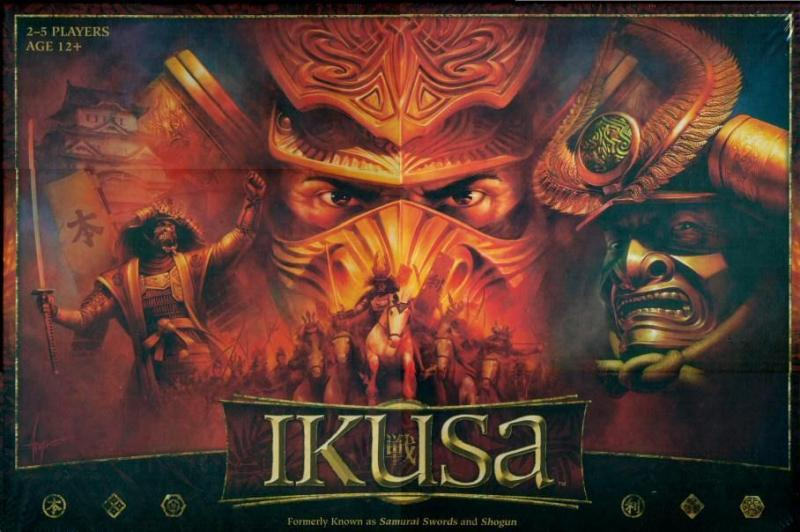 настольная игра Ikusa