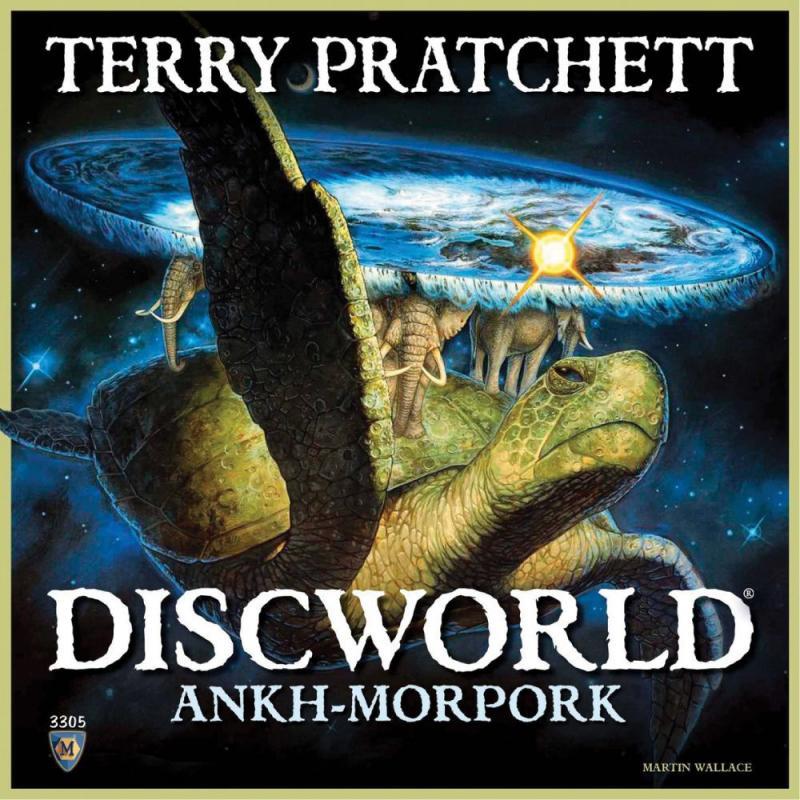 настольная игра Discworld: Ankh-Morpork Discworld: Анк-Морпорк