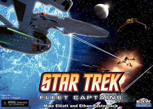 настольная игра Star Trek: Fleet Captains Звездный путь: капитаны флота