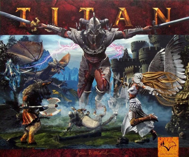 настольная игра Titan Титан