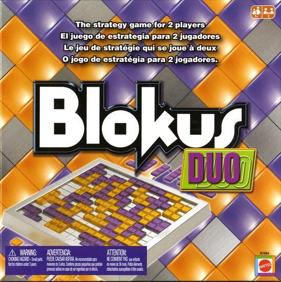 настольная игра Blokus Duo Блок Дуо