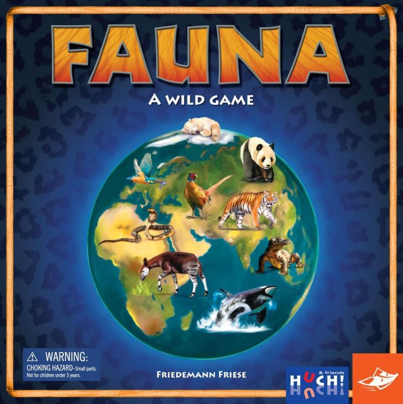 настольная игра Fauna Фауна