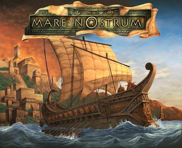настольная игра Mare Nostrum Маре Нострум